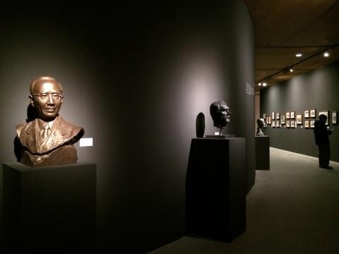 文化名人雕塑系列创作