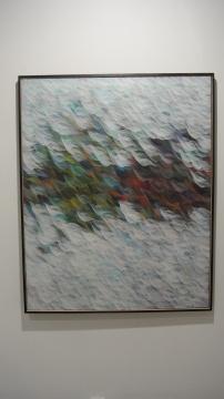 彭博 《羽尘20151106》 150×120cm 布面油画 2015 推荐人:林青文