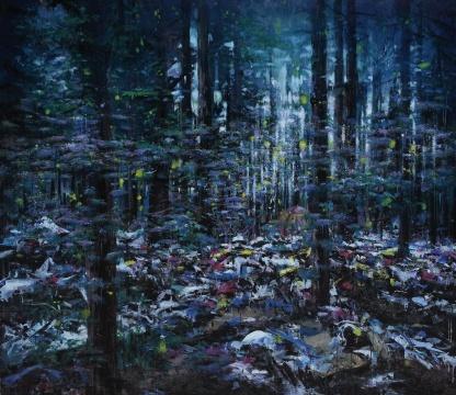 赵博 《美丽新世界12号》 200×230cm 综合材料  2015