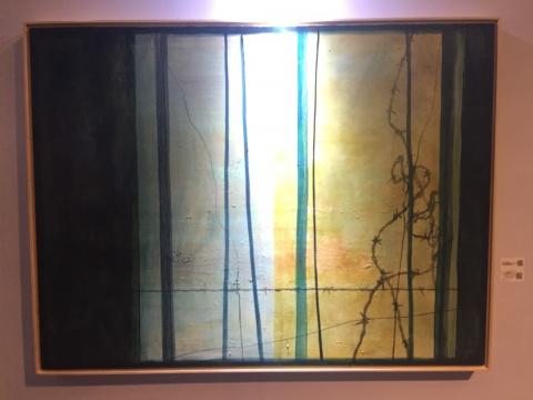 曹太平 《误入藩篱》 150×120cm 布面油画 2015