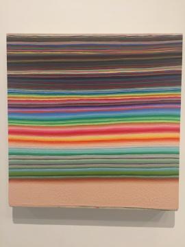 王光乐 《寿x漆》 112×116cm 布面油画 2007