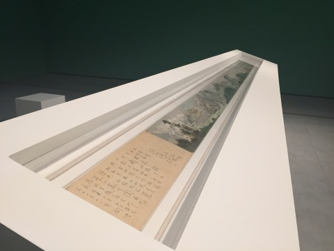 吴冠中 《长江万里图》22.5×509cm 纸本油画长卷 1971