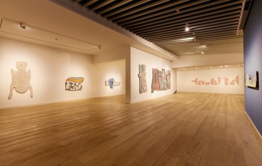 展览空间中心区域
