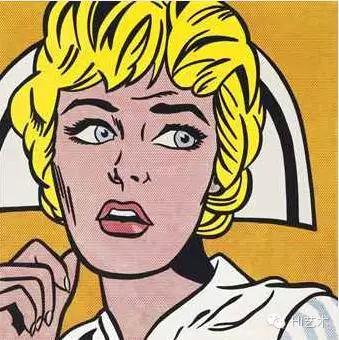 罗伊•里奇等斯坦 《护士》 121.9×121.9cm 布面油画 1964  成交价:$95,365,000
