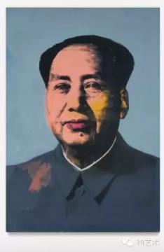 安迪·沃霍尔《毛》 208.3×144.8cm 布面亚克力及丝网印 1972  成交价:$42,200,000
