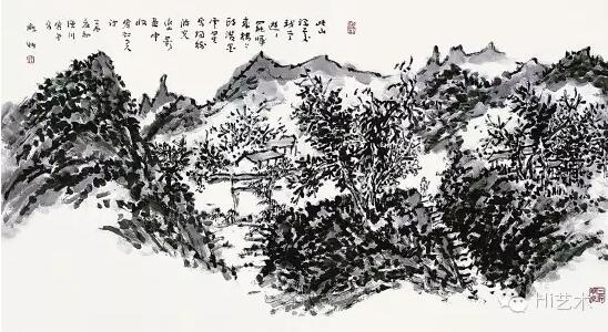 许宏泉山水作品
