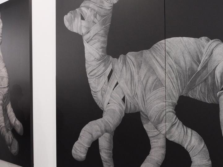 由FOST Gallery代理的巴基斯坦70后艺术家Adeel uz Zafar作品