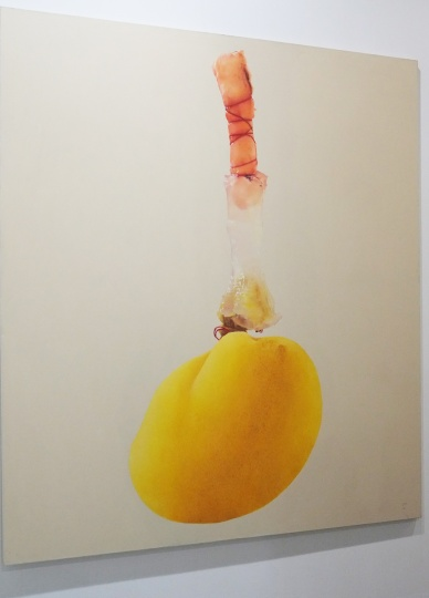 Handiwirman Saputra 《Lukisan Dari The Order of Thing》220×195cm 布面油画 2011 售价:16万美金