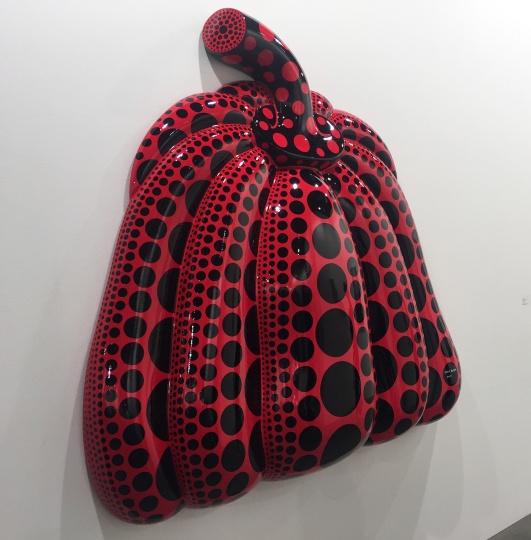 大田画廊的这次带来了一件红色南瓜