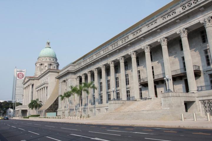 新加坡国家美术馆外观