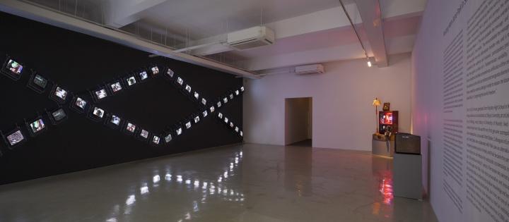 """""""在上海遇见白南准""""展览现场"""