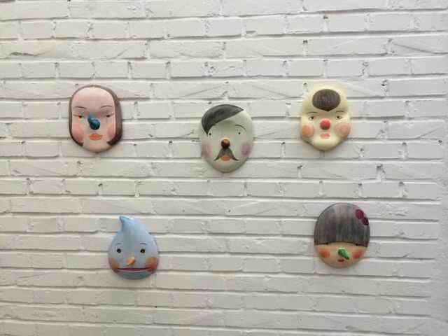 艺集与陈可合作第一款原作,《面具》系列