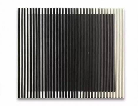于洋 《水墨物体-融》 180×210cm 纸本水墨、木 2015