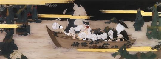 狄青 《如也》 60×158cm 绢本设色 2016