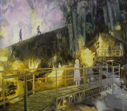 莫頔 《迷宫》 130×150cm 布面油画 2015