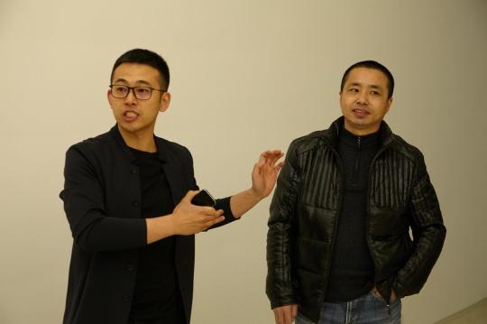 偏锋新任国际事务总监杨大宇(左)及策展人方志凌(右)