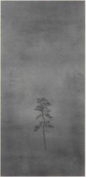 《归远-一》纸本水墨 136x67cm 2015年