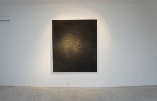 《青松十》纸本水墨 34x46cm