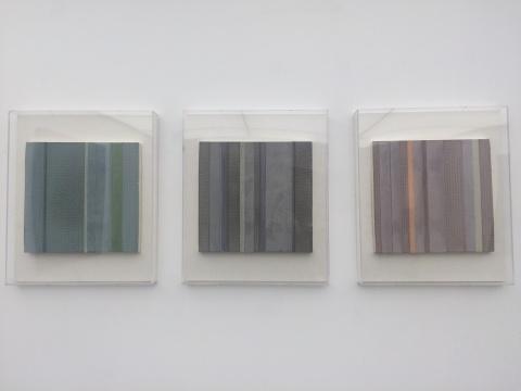 王豪 《朴》 31.5×30.5cm×3 水泥综合材料 2014