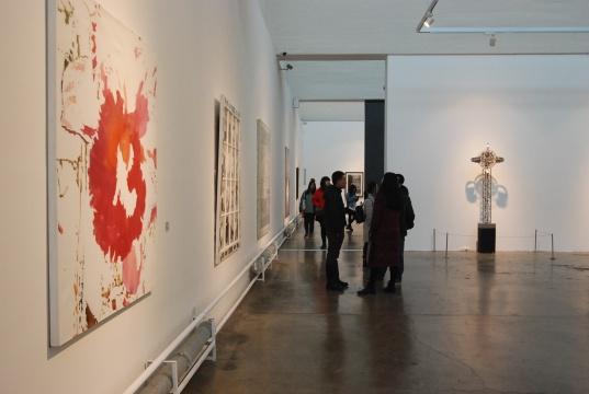 """索卡艺术中心""""异域之后——东南亚当代艺术""""展览现场"""