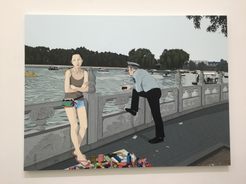 《来日方长》 180×240cm 布面丙烯 2015
