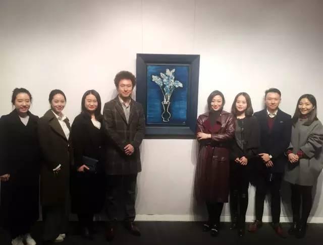 北京保利现当代艺术部门人员合影