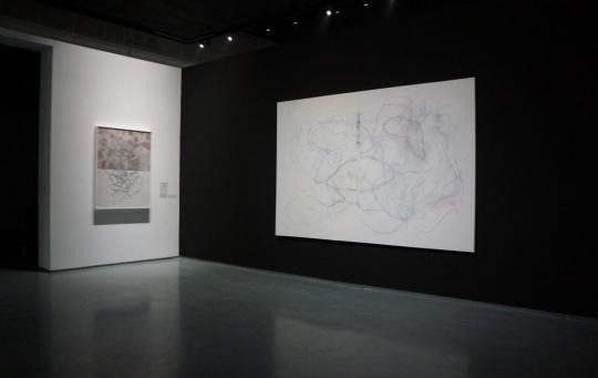 艺术家周力作品,用去中心化来表现观看的无限可能。