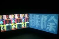 在3首映雎安奇《大字》 碎石幻化出的政治文化浪潮,棉 布,雎安奇