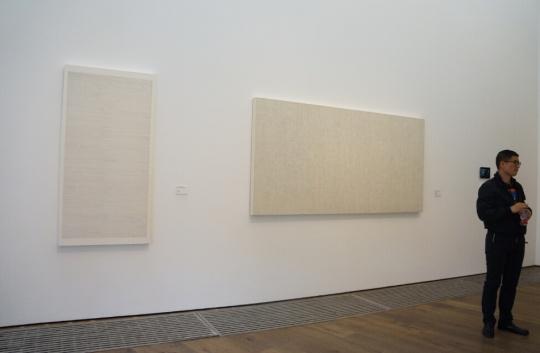 李华生作品现场,香港巴塞尔期间,墨斋将会推出李华生个展。