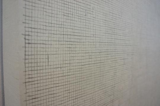 李华生《0104》(局部)纸本水墨 123.5×248.7cm 2001
