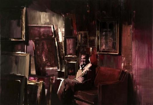 《收藏家》 200×290cm 布面油画 2008