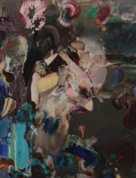 《达尔文-自画像》 60×47cm 布面油画 2014