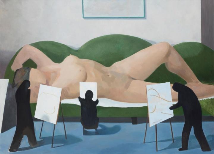 《写生》 布面油画 180x250cm 2015