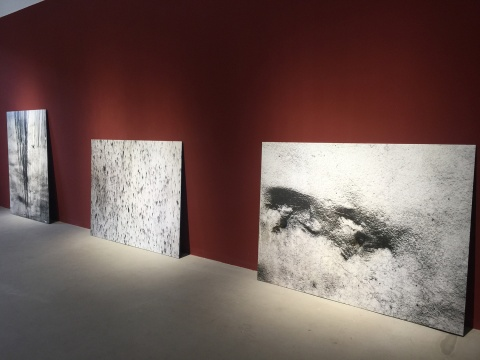 《墙的痕迹练习》 146×110cm 数字图片 2016