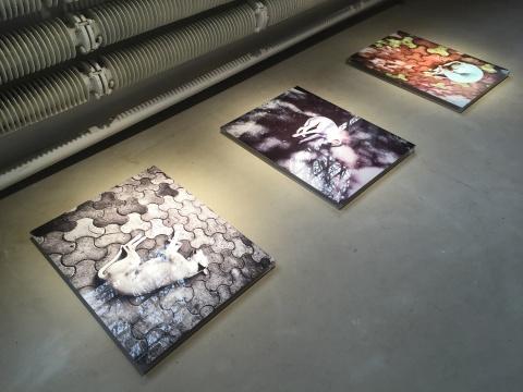 《安静》 80×60cm 数字图片 2016