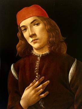 《一个年轻人的肖像》