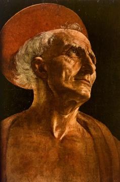波提切利所绘的老人肖像