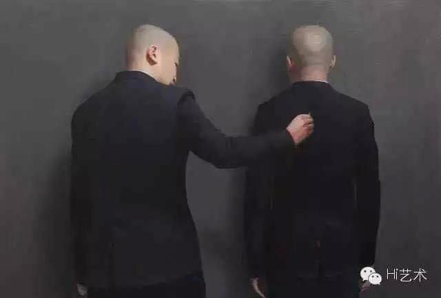 薛若哲 《50P 》159x108cm 布面油画 2016