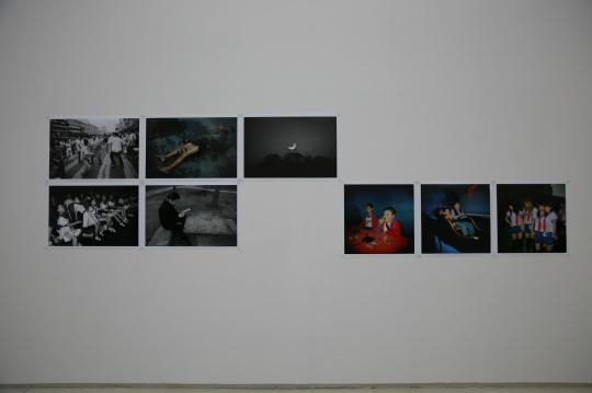 """《白夜》 冯立 照片 2005-2015年 冯立认为他记录的是城市""""白夜""""里的""""动物"""""""