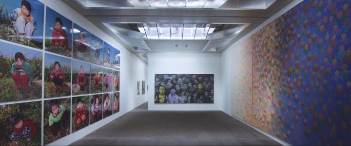 """由M+策划的""""M+希克藏品:中国当代艺术四十年""""在香港巴塞尔艺博会期间受到众多观众的参与"""