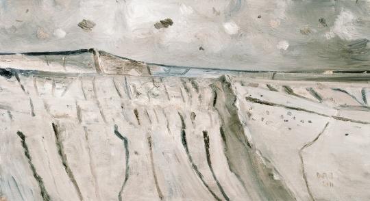 《刘家坬》 110×200cm 布面油画 2011