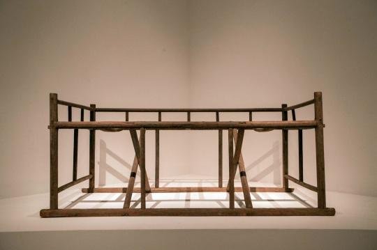 床 15~16世纪(明中晚期) 榆木 200x103x91cm