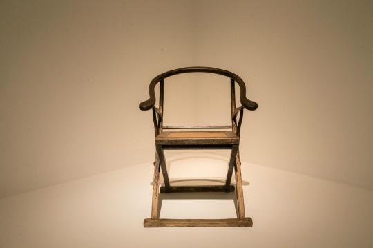 圈背交椅 17~18世纪(清中早期) 榆木 70x43x93cm