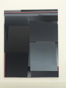 Enrico BACH 《B.T.D.T. (Dark Fields)》300×240cm布面油画2014
