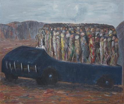 孔千 《鲁国梦》 150×180cm 布面油画 2005