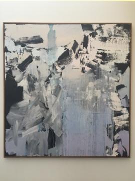 冯良鸿 《作品15-12-2》 200×190cm 布面油画 2015