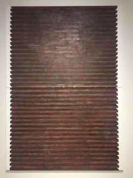 《断层》 140×200cm×2 布面综合材料 2015