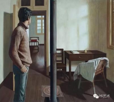 Lot151 袁庆一 《春天来了》 170×189cm 布面油画 1984  估价:1850万-2500万元(©85美术)