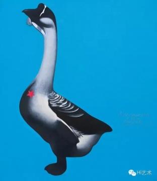 李山 《胭脂系列——每星期的第7天:62号》 150×130.5cm 布面油画 1994  估价:60万-100万元(©85美术)