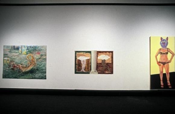 """1978""""坏画""""展览现场"""